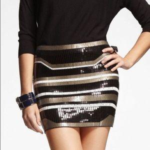 Express Sequin Skirt